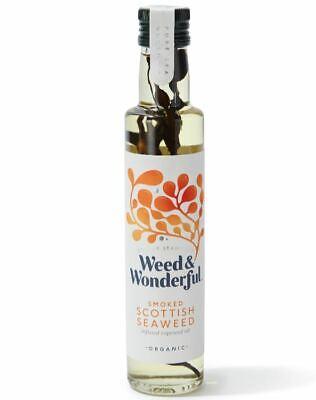 Weed and Wonderful Ahumado Escocés Alga Marina Infusionados Colza Aceite 250ml