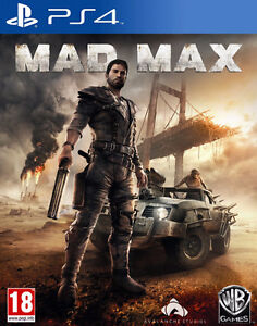 Mint PS4 Games - Cheap!   Mad Max