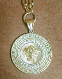 Prime Versace Custom Made Necklace & Chain