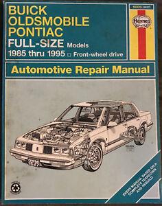 Bonneville, Park Avenue, Delta 1985-95 Haynes Manual