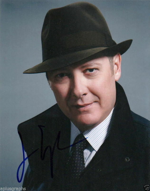 JAMES SPADER.. The Blacklist's Reddington - SIGNED