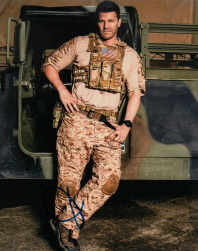 DAVID BOREANAZ.. SEAL Team's Jason Hayes - SIGNED