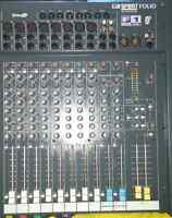 Soundcraft 16 channel mixer