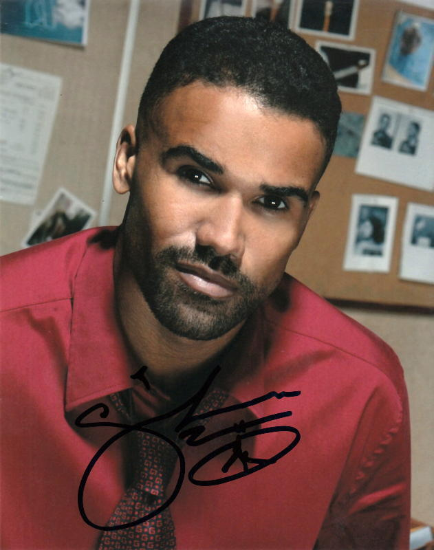 SHEMAR MOORE.. Criminal Minds - SIGNED