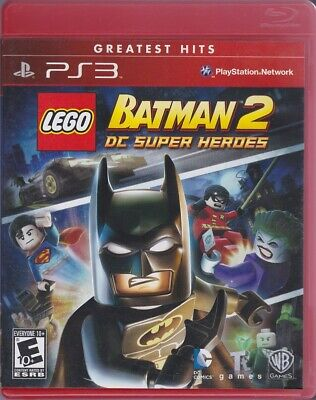 COMPLETE - Lego BATMAN 2 DC Super Heroes PlayStation 3 / PS3 Greatest Hits