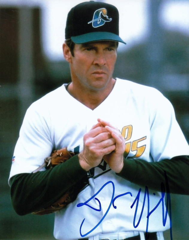 DENNIS QUAID.. The Rookie - SIGNED