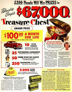 Palmolive and a Studebaker Poster