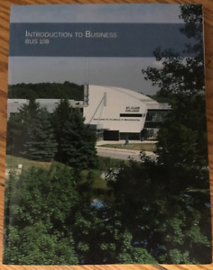 Introduction To Business - BUS 108