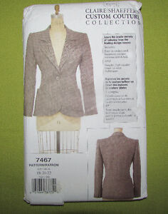 Sewing Pattern - Custom Jacket Tailoring - NEW