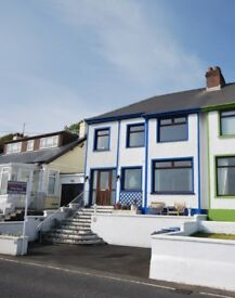 Seaside Living on Antrim Coast Road in Semi Detached House