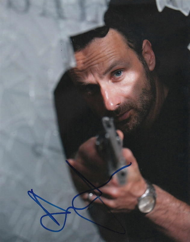 ANDREW LINCOLN.. The Walking Dead Sheriff - SIGNED