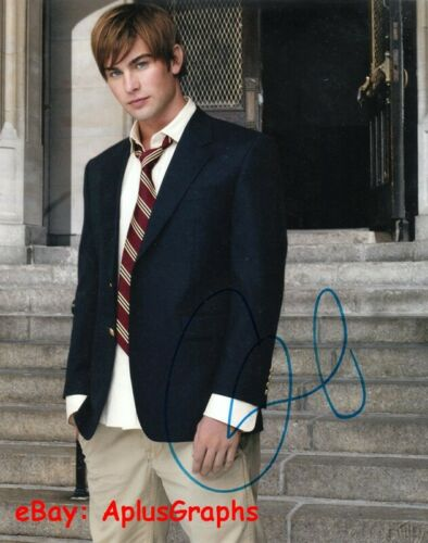 CHACE CRAWFORD.. Gossip Girl - SIGNED