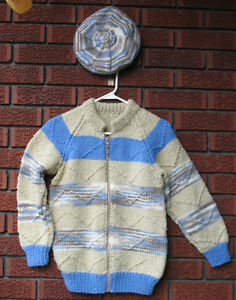Zippered Sweater, size 12- Brand New with Tam-*on sale*