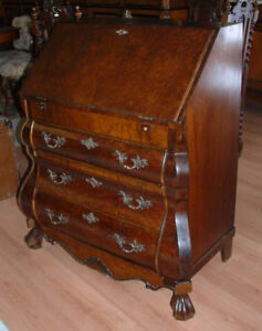 Vintage 1940 Bombay Chest Desk