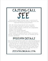 CASTING CALL - Movement Specialist