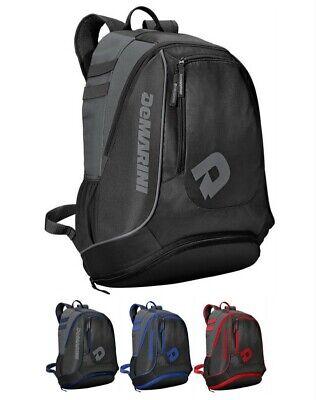 DeMarini WTD9411 Sabotage Bat Pack Baseball Player Backpack Bag Various Colors New Demarini Players