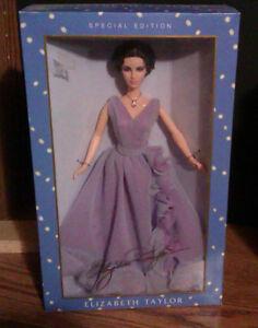 Elizabeth Taylor White Diamonds Barbie Special Edition *NEW*