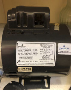 Emerson electric motor 3/4 hp