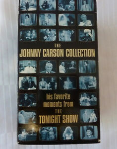 Collector Set VHS Tapes - Johnny Carson