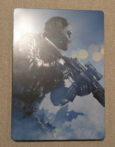 COD Ghost Game with Steelbook