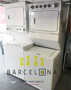 """WASHER & DRYER STACKABLE / LAUNDRY CENTRE 24"""" & 27"""""""