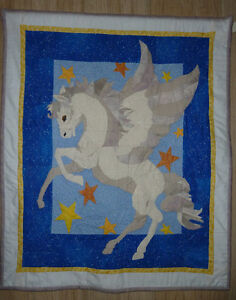 Pegasus Quilted wallhanging. Strathcona County Edmonton Area image 1