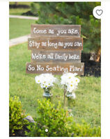 Rustic Wedding Decor for Sale!