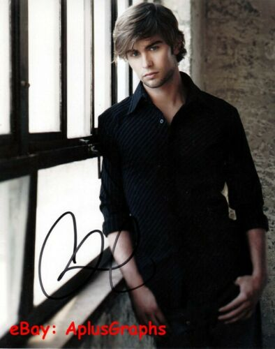 CHACE CRAWFORD.. Sexy Stud - SIGNED