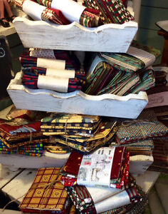 FAT QUARTERS FOR QUILTING AND CRAFTS