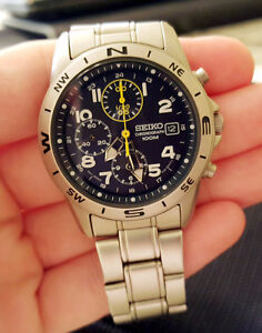 Rare Seiko Navy Chronograph (like new)