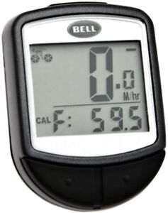Bell Console 300 16-Function Cyclometer, Black, New