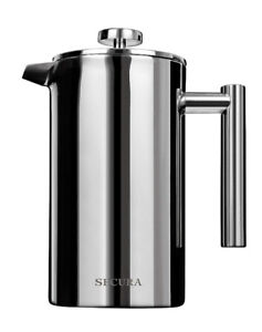 NEW!! Secura 8 Cup French Press Coffee Maker