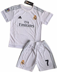 Kids Soccer Kit, Shirt & Shorts, Real Madrid 2016 , Ronaldo #7