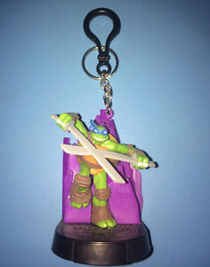 TMNT Teenage Mutant Ninja Turtles Swappz Leonardo Key Chain 3""