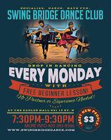 Drop in Swing Dance - Basic Moves every week! Socialize, Fun!!