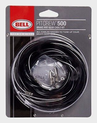 > BELL Sports Bike Fix GEAR & BRAKE CABLE Repair Set Bicycle Tune Up Pit 7070555