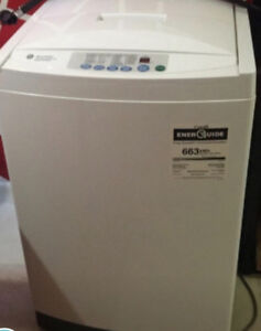 GE Spacemaker 2.6 Cu.ft  apt. size Portable washer ...can Delive