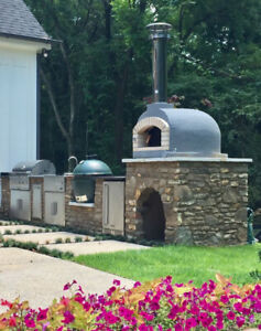 Outdoor Wood Fired Pizza Ovens, Brick Ovens