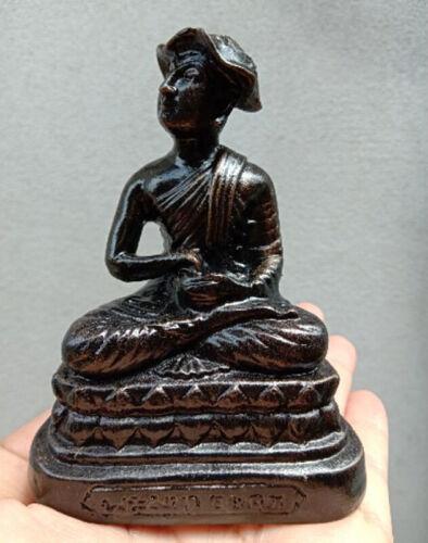 Phra LP Upakut Statue Mix Leklai Nampee Talisman Holy Thai Buddha Amulet