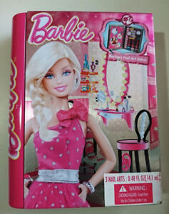 Barbie Doll Nail Art Salon