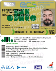 Fully Qualified Electrician Belfast