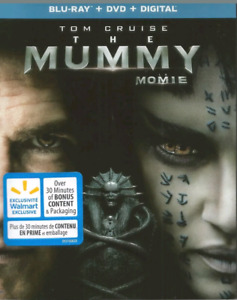 The Mummy blu ray/dvd + Digital (New)