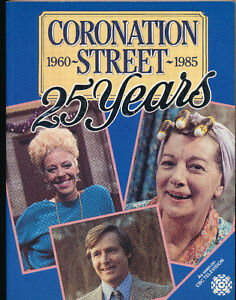 Coronation Street 25 Years 1960-1985-CBC Toronto-Softcover-1986