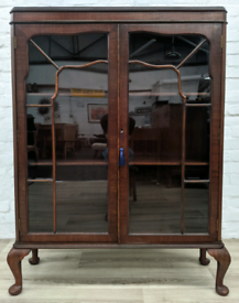 Queen Anne Style Bookcase (DELIVERY AVAILABLE)