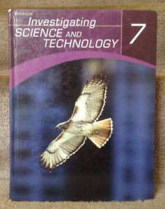 Investigating Science and Technology 7 science textbook