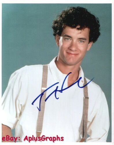TOM HANKS.. Charismatic Actor - SIGNED