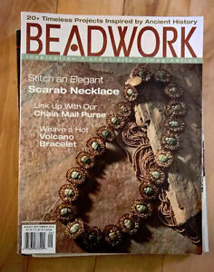 Lot of 4 Beading Magazines from 2004
