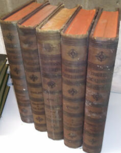 1890 Old Chamber's Encyclopedia Books