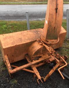 Souffleur à neige pour tracteurs