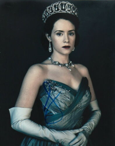 CLAIRE FOY.. as Queen Elizabeth ll (The Crown) SIGNED